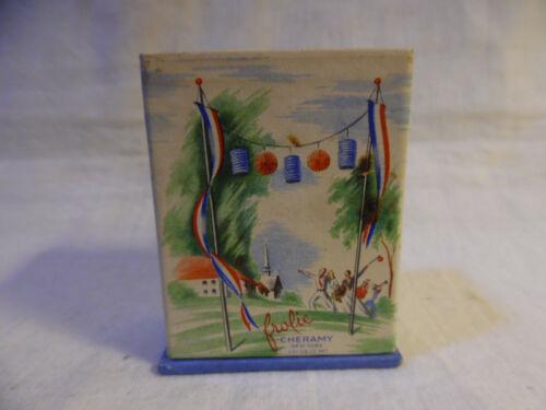 Vintage Perfume Frolic Cheramy New York With Original Box 1940s