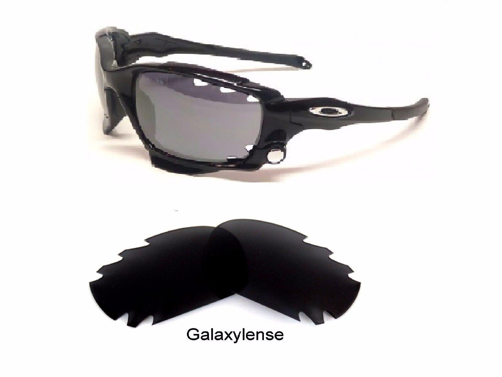 fcb40462286 Lentes de recambio para Oakley Jawbone Black Iridium polarizaron 100% UVA    VB