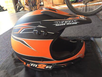 Motorcycle Helmet with Bag