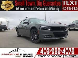 2018 Dodge Charger GT AWD ROOF, LEATHER, BEATS AUDIO- NON RENTAL