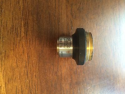 Carl Zeiss Jena 5.5x 5.50.1 T Microscope Objective Lens