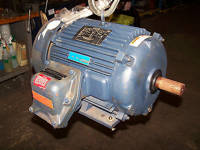 New Leeson 10 Hp Ac Electric Motor 230460 Vac 3535 Rpm 215t Frame Epfc