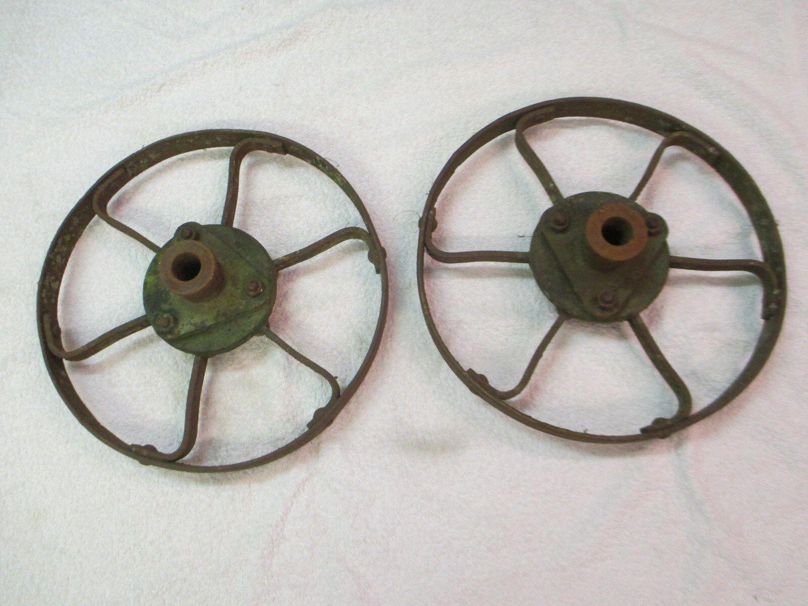 Metallrad Eisenrad Gussrad Antik Grill bauen Hobbyschmiede