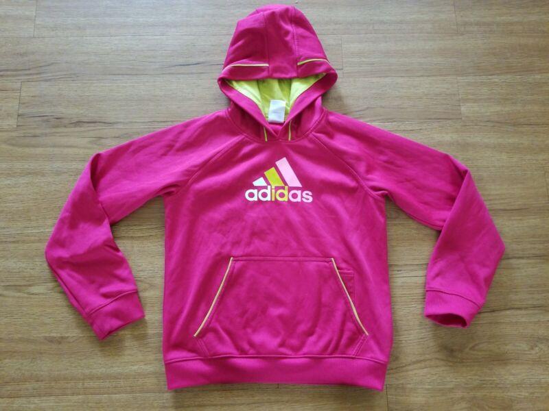 Adidas Big Logo Hooded Sweatshirt Youth / Little Girl