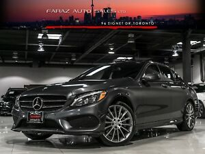 2015 Mercedes-Benz C400 AMG|BURMESTER|BLINDSPOT|NAVI|LED|REAR CA