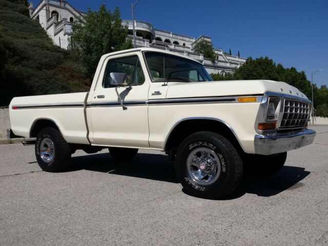 1979 ford f150 short bed 4x4 ranger lariat no reserve a t a c p s p db 79 f 150 used ford f. Black Bedroom Furniture Sets. Home Design Ideas