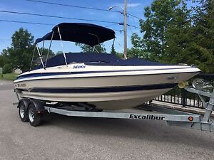 21' LARSON BOW RIDER WITH TRAILER
