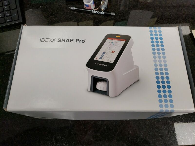 New Idexx Snap Pro Mobile Portable Veterinary Blood Analyzer