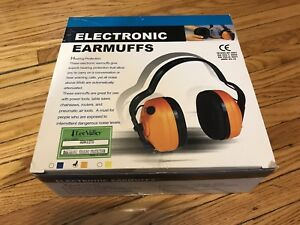 Lee Valley electronic earmuffs