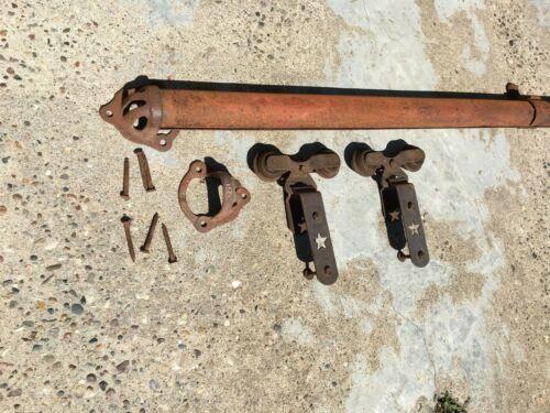 antique barn door rollers w/ 15