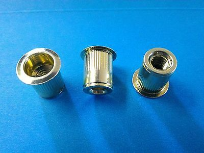 Rivet Nuts 516-18 Steel 10pc Buy 3 Or More 10 Rebate Rivnut Riv Nut Nutsert