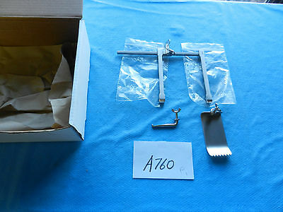 V. Mueller Neuro Spine Spinal Nl5237 Scoville Hemilaminectomy Retractor New