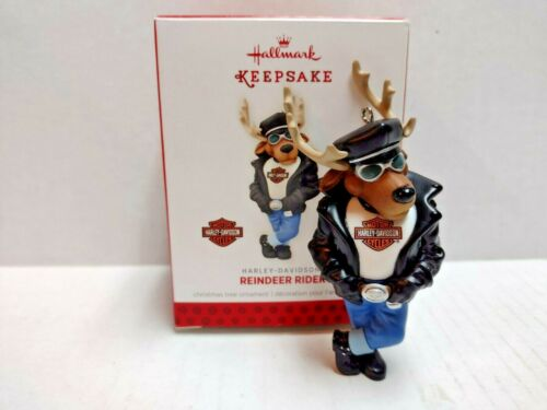 Hallmark Keepsake Harley-Davidson Christmas Ornament.... Reindeer Rider