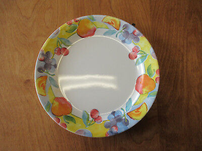 Corelle FRUIT BASKET Dinner Plate & Luncheon Plate 1 of each