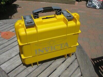 INVICTA 8 Slot Water Resistant Dive Case Protective Watch Box Case