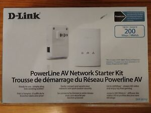 D-link powerline network kit