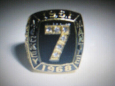 MICKEY MANTLE New York Yankees  #7 Hall of Fame and STATS Ring - AWESOME!! Hall Of Fame Ring