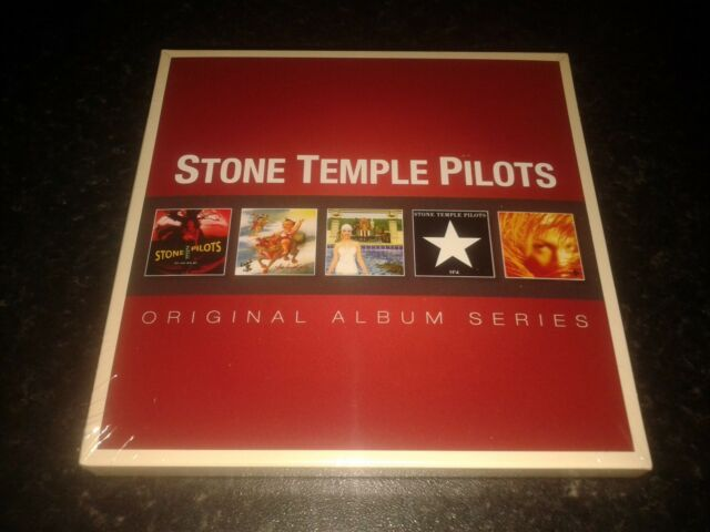 STONE TEMPLE PILOTS - ORIGINAL ALBUM SERIES  5 CD SET NEW AND SEALED 2012 WARNER