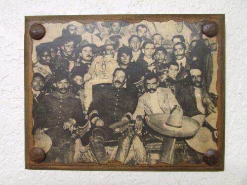 Pancho Villa & Emiliano Zapata Print #4-Mexican Folk Art- Panel-Revolutionary