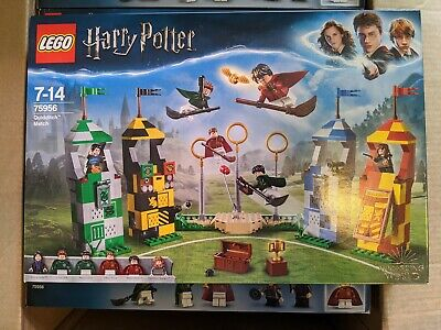 LEGO 75956 Harry Potter Quidditch Match 500 Piece Building Set - BRAND NEW!