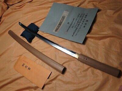 Fuyuhiro O shuriagi Katana - antique sword Samurai Japanese Tachi tsuba Signed