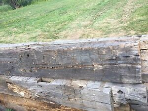Hand Hewn Barn Beams from the 1800s