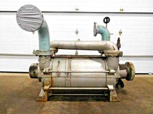 MO-2706, BUSCH LIQUID RING GAS HIGH VACUUM PUMP. LB 3008A. 2 STAGE.