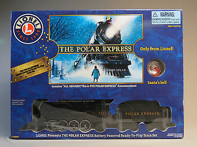 LIONEL LARGE SCALE POLAR EXPRESS READY TO PLAY TRAIN SET steam 7-11803 NEW