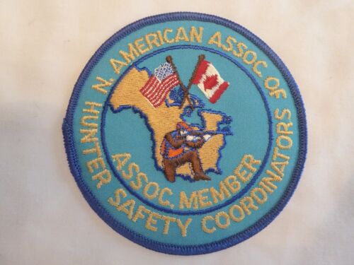 NORTH AMERICAN ASSOCIATION OF HUNTER SAFETY COORDINATORS ASSOC MEMBER PATCH