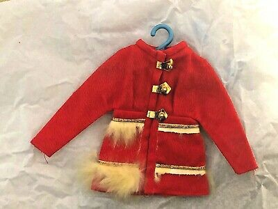 Vintage FUR SIGHTED COAT 1970's Mattel BARBIE