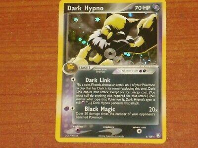 Pokemon Card: DARK HYPNO #6/109 HP70 EX-Team Rocket Returns Rare Holofpil 2004
