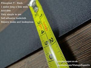 Filmoplast T Book, Book Spine & Box Repair Tape, Self-adhesive bookbinding cloth