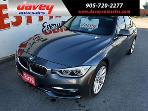 2016 BMW 328i xDrive AWD, NAV, SUNROOF