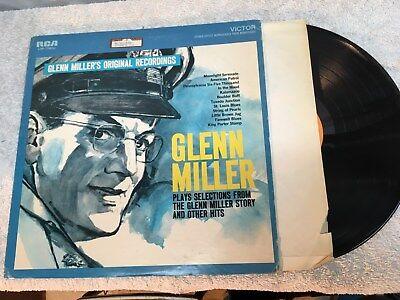 Glenn Millers Original Recordings Glenn Miller Story Record Viny Album