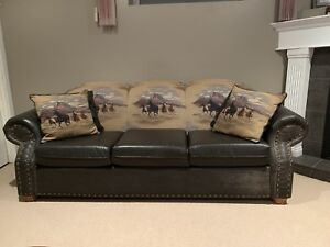 Just in time for Xmas. Custom sofa for sale. $300