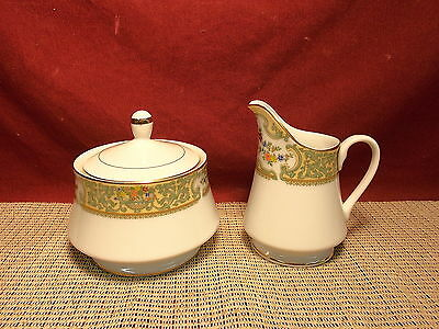 Mikasa Coutour  China Summer Bouquet M2106 Pattern Sugar & Creamer (China Summer Bouquet)