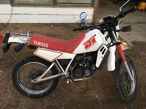 1988 Yamaha DT50  is SOLD SOLD SOLD THX kijiji!!!!!