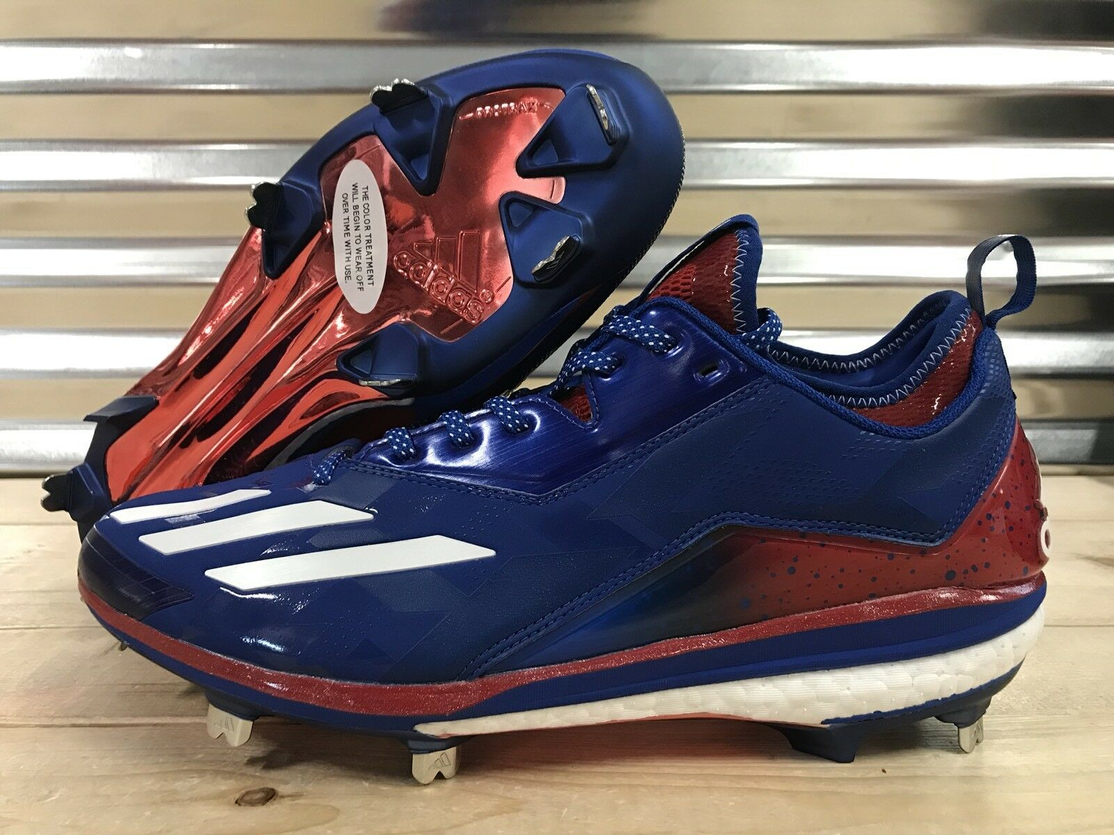 de027e67cbe2 Adidas Boost Icon 2.0 PE Kris Bryant Metal Baseball Cleats Sample USA (  BY3318 )