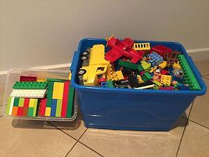 Lego Duplo - HUGE BOX - baseboard, bricks, vehicles, figures Glenelg Holdfast Bay Preview