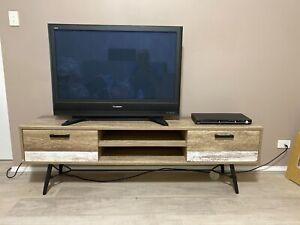 Kori Amart Retro TV unit, large, wood look laminate