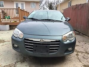 Chrysler Sebring Limited edition with fresh Safety