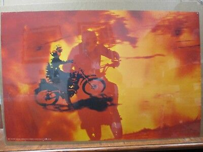 Vintage Moto Dirt Bike motorcycle Cycle 1971 Motocross in#G3625