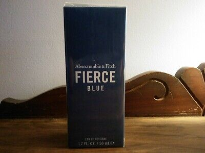 NIB Abercrombie Fierce Blue Cologne - 1.7 Fl.Oz./50 ml - FACTORY SEALED