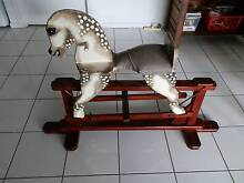 Childrens Rocking Horse $25 PLUS FREE box of mega blocks Sandstone Point Caboolture Area Preview