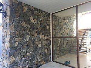 Platinum Dark Grey Stone Wall Cladding Random Effect