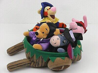 Pooh Bear Tigger Piglet Eeyore Plush Disney Halloween Beanies in Cart Beanbags