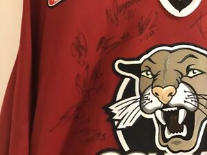 Cougars WHL Hockey Jersey (2003)