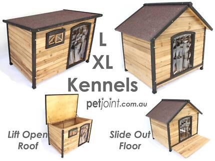 Large Pet Kennel for Extra Big Huge Dog Timber Wooden House Home