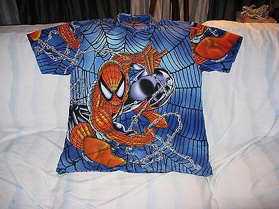 """Spiderman"" Short Sleeve Shirt – Great Image Wonderful Shirt(M)"