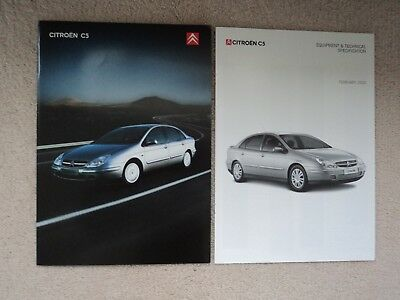 Citroen C5 (Incl. 3.0i V6 24V) - Brochure Pack - 2002/3 - Mint